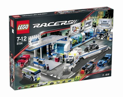 Lego 8154 Racers BRICK STREET CUSTOMS