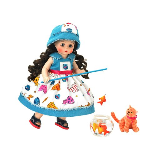 Buy Madame Alexander 8 Inch Americana Collection Doll – Gone Fishing Wendy