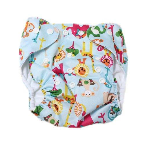 TOOGOO(R) Baby Windel Stoffwindel ueberhose Windelhose Verstellbar Trainingshoeschen Mehrweg(Windel nicht in der Verpackung)