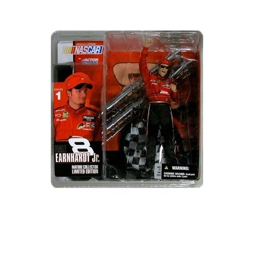 McFarlane Toys NASCAR Series 1 Action Figure Dale Earnhardt Jr. - 1