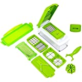 Keewetech 11 In 1 Vegetable & Fruits Cutter, Slicer, Dicer Grater & Chopper, Peeler