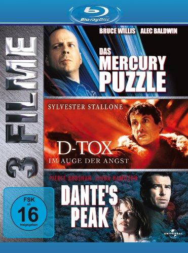 Dante's Peak/Das Mercury Puzzle/D-TOX [Blu-ray]