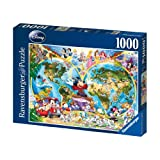 Ravensburger Disney World Map 1000 piece jigsaw puzzleby Ravensburger