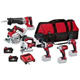 Milwaukee HD18PP6A-402C HD18PD/ C18ID/ HD18CS/ HD18AG/ HD18SX/ C18WL Combo Kits with 2 x 4.0Ah Batteries