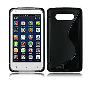 Smart Choice Anti-skid Soft TPU Back Case Cover for Nokia Lumia 820 (Black)
