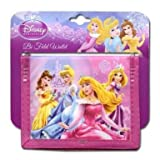 Disney Princess Non- Woven Bifold Wallet on Card