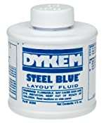 Dykem CL-BLUE Layout Fluid Ship Ground Only ORM-D,4oz Size: Amazon.com: Home Improvement