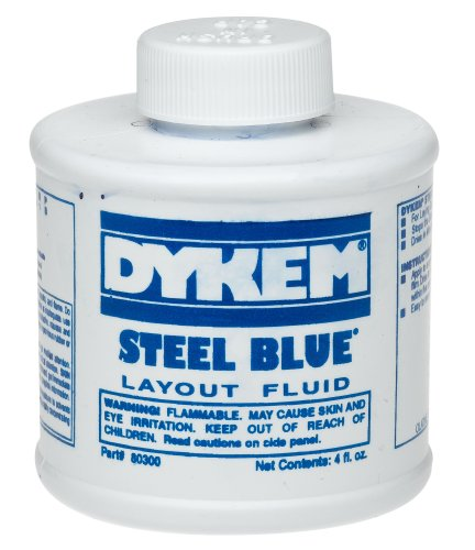 Dykem CL-BLUE Layout Fluid Ship Ground Only ORM-D, 4oz Size