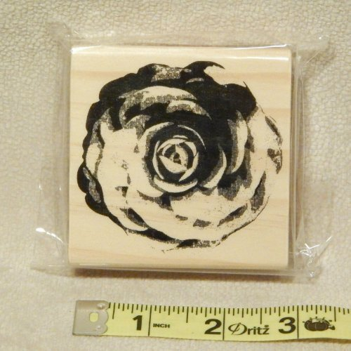 Rose - Wood Block Rubber Stamps From Michaels