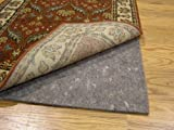 Durable Reversible 4' x 6' ULTRA HOLD(TM) Rug Pad for Hard Surfaces and Carpet