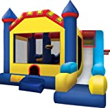 Ninja Jump Castle Inflatable Bouncer with Slide
