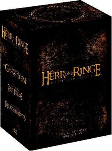 Der Herr der Ringe - Die Spielfilm Trilogie (Extended Versions, 12 DVDs)