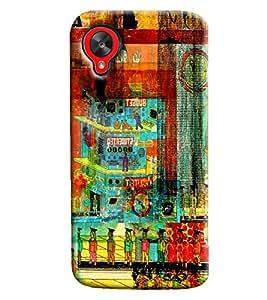 Clarks Printed Designer Back Cover For LG Google Nexus 5