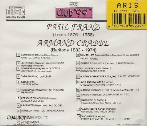 Paul Franz 51UFDj5k8oL