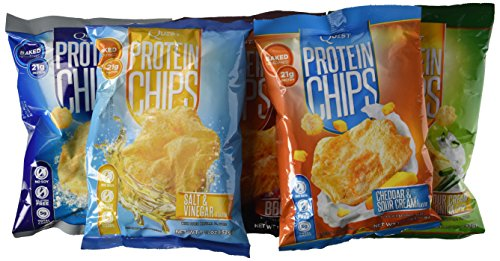 NEW-Quest-Protein-Chips-Sampler-10-Pack-2-each-flavor-Try-Them-All