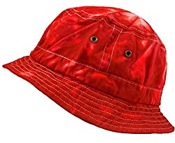 Colortone Bucket Hats Youth Spider Red