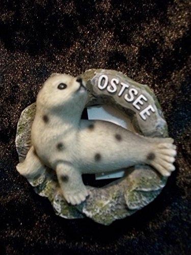 Magnet Seehund Ostsee 6 cm Maritim See Meer Deko GKM 03597