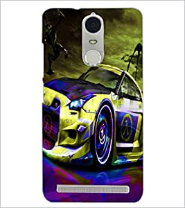 PrintDhaba Car D-3271 Back Case Cover for LENOVO K5 NOTE (Multi-Coloured)