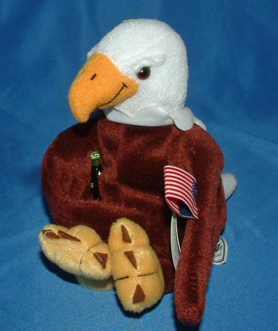 Coca-Cola International Collection Bean Bag Reegle the Eagle - United States Item #0211 - 1