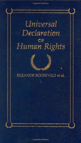 Universal Declaration Of Human Rights (Little Books Of Wisdom)