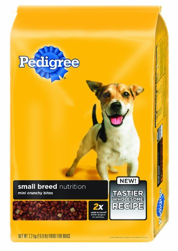PEDIGREE SMALL BREED dry dog food  for Adult Dogs less than 25 LBS. Original 15.9 lb