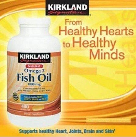 Kirkland Signature Fish Oil front-588686