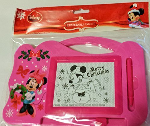 Disney Minnie Erasable Tablet with Stylus(great Gift)