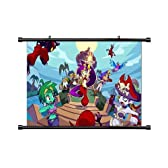 Shantae: Half-Genie Hero Game Fabric Wall Scroll Poster (32x18) Inches by Anime Wall Scrolls [並行輸入品]