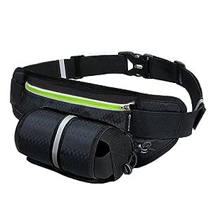 MYCARBON防水 バッグ ランニング ポーチ スポーツ用ウエストバッグ