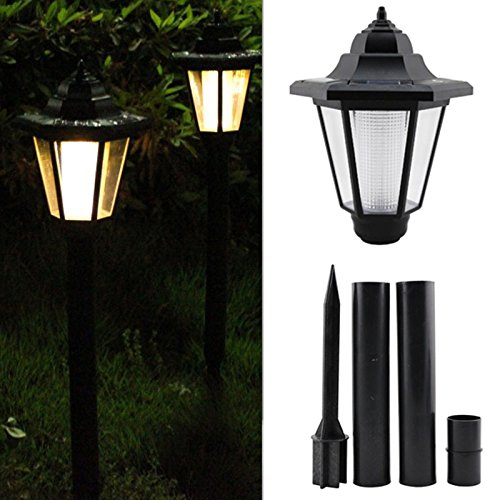 Metro Shop Tops LED Solar Power Light Sensor Garden Security Lamp Outdoor Waterproof Lights picture