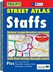 Philip's Street Atlas Staffordshire:...