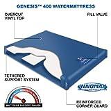 InnoMax Genesis 400 Gentle Wave Waterbed Mattress, Queen