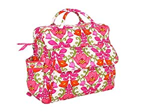 vera bradley convertible baby bag in lilli bell diaper tote bags baby. Black Bedroom Furniture Sets. Home Design Ideas