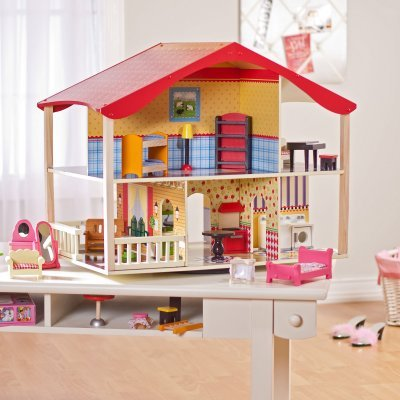 KidKraft Cherry Hill Dollhouse Deluxe – KD375