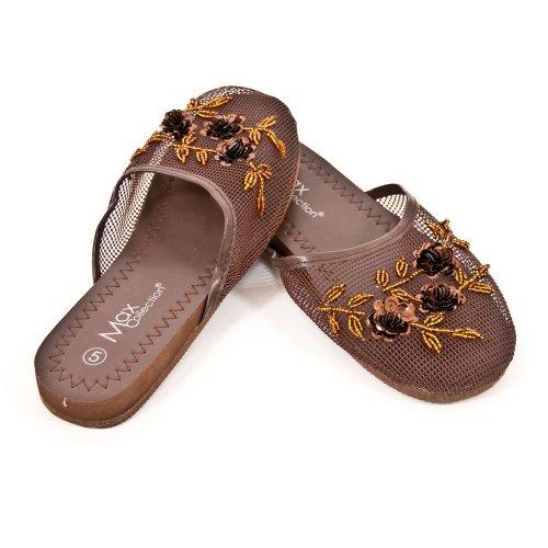 Cheap Mesh Slippers – Brown (B003JNBEY6)
