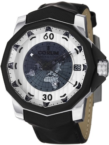 Corum Admiral's Cup Challenger 48 Day Night Men's Silver Dial Automatic GMT Watch 171.951.95/0061 AK12