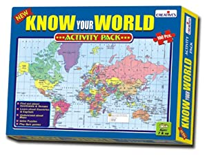 Creative Educational Aids 0721 Know Your World - An Activity Pack