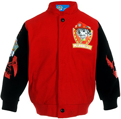 Paw Patrol Marshall Ruff Ruff Rescue Boys Character Snap Up Jacket (2T) (Paw Patrol Emblem compare prices)