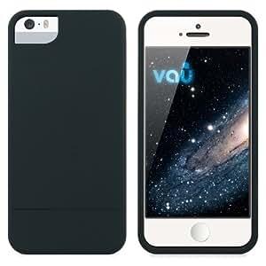 vau Snap Case Slider - matte black - zweigeteiltes Hard-Case für Apple iPhone 5 & iPhone 5S