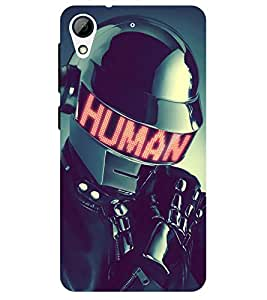 Chiraiyaa Designer Printed Premium Back Cover Case for HTC Desire 628 (human robot astronaut 3d) (Multicolor)