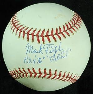 "Mark Fidrych Single-Signed OML Baseball ""ROY 76"" ""The Bird"" (PSA/DNA)"
