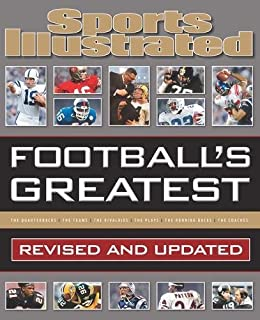 Book Cover: Sports Illustrated Football's Greatest: Revised and Updated: Sports Illustrated's Experts Rank the Top 10 of Everything