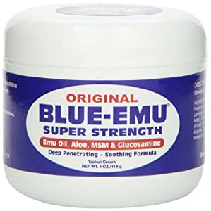 Nfi Consumer Products Blue-emu Emu Oil, Aloe, Super Strength, 4-Ounce Jar