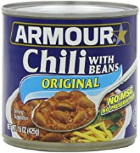 Armour Original Chili with Beans 15oz Can Pack of 6