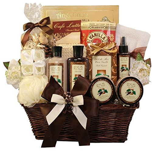 Art of Appreciation Gift Baskets Essence of Luxury Vanilla Spa Bath and Body Gift Set (Gift Basket Baby compare prices)