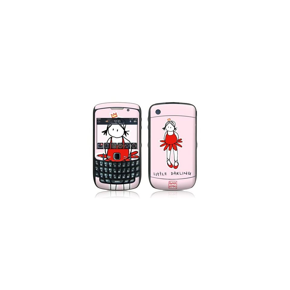 Little Darling Design Skin Decal Sticker for Blackberry Curve 8500 8520 8530 Cell Phone