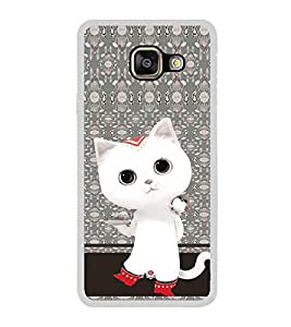 ifasho Winking and Dancing Cat Back Case Cover for Samsung Galaxy A3 (2016)