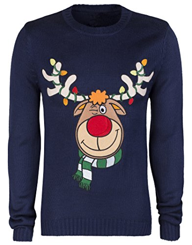 Christmas-Jumper-Xmas-Novelty-Sweater-Funky-Outfit-Reindeer-Penguin-Present-Gift-Mens-Womens-Boys-Girls-XS-XL
