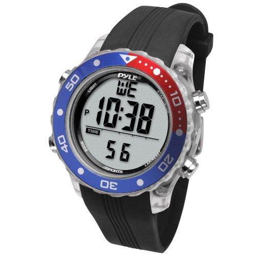 Pyle Waterproof Underwater Snorkeling & Diving Multi-Function Water Sport Wrist Watch