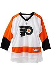 NHL Philadelphia Flyers White Replica Jersey - R58Hzboo Youth